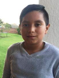 """Hello! I am Carlitos, thanks to Project M:25, I learn Math and English with my friends. I like to help my classmates and I want to be a chef when I grow up.""- Carlitos"